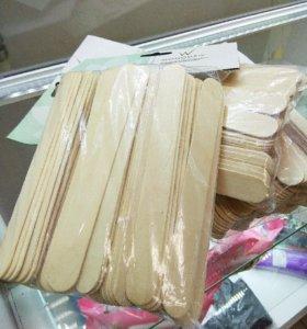 Шпатели деревянные 100шт