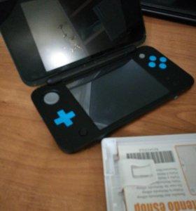 Игровая портативная консоль Nintendo 2ds xl