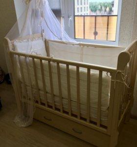 Кроватка детская Можга Артём