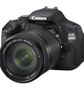 фотоаппарат canon eos 600d kit 18 135 is