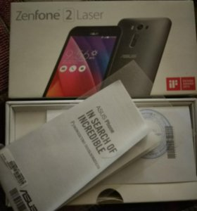Коробка +документы для ASUS Zenfone 2 Laser