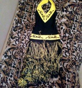 Платье для спортивно-бальных танцев латина ю1