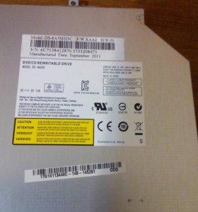 Ноутбук asus x53u Оптический привод: DVD-RW