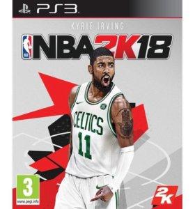 NBA 2k18 на ps3