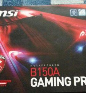 материнская плата MSI B150A gaming pro