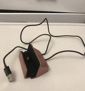 Док.станция и USB кабель,для зарядки IPHONE 6,7,8