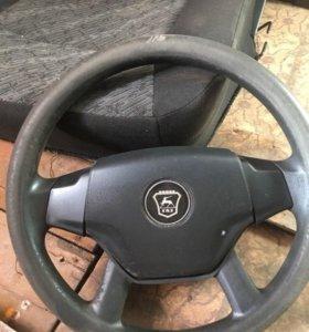 Руль и сиденья от ГАЗ