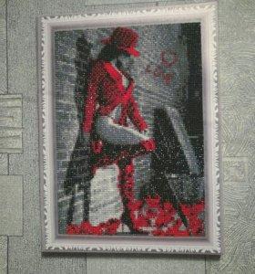 Картины алмазная живопись