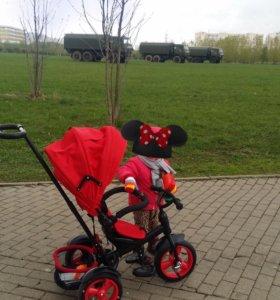 Трехколёсный велосипед 3 в 1