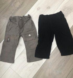Штанишки для мальчика, б/у, до 80 см