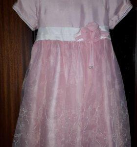 Платье для девочки 86р.