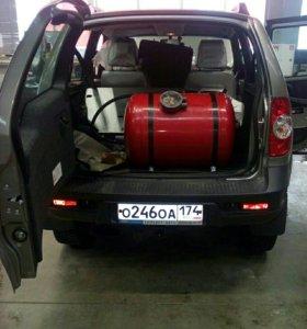 Установка газ на авто. ГБО