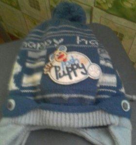 Зимн.утепленная шапка