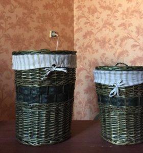 Очень удобные корзины для хранения в идеале