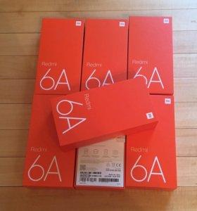 Xiaomi Redmi 6A 2/16 gb Black, Ростест