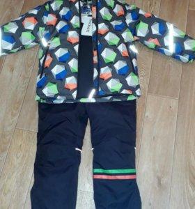 Новый зимний костюм фирма Crockid. Размер 116-122