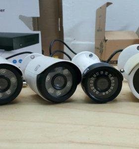 4 камеры + видеорегистратор
