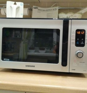 Микроволновая печь Samsung: гриль, конвекция, 28 л