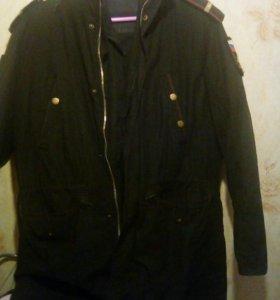 Зимняя военная куртка.