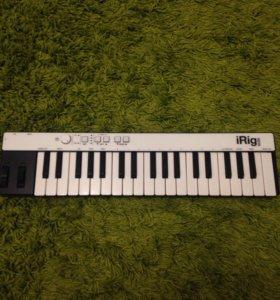 iRig Keys midi клавиатура