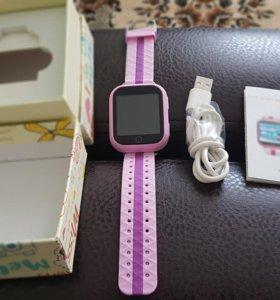 Продам детские смарт -часы для девочки