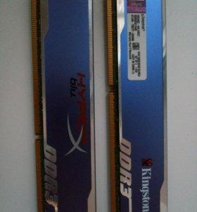 Kingston HyperX blu. DDR3 8Гб.