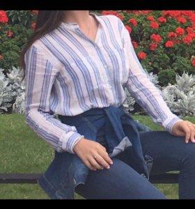 Рубашка в полоску pull&bear