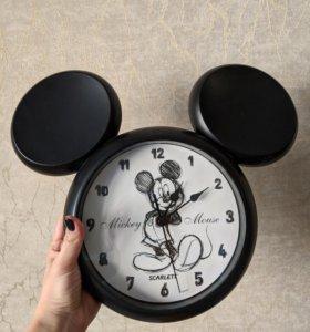 "Часы настенные Scarlett ""Микки Маус"""