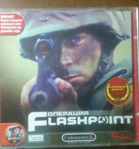"Диск с игрой на ПК ""Операция Flashpoint"""