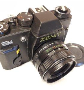 Фотоаппарат Зенит 15м с обьективом Helios-44M-7