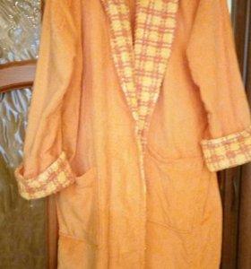 Женский махровый халат