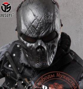 Черный Бог тактические маски Хэллоуин военные мане