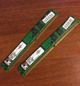 Оперативная память Kingston DDR2
