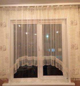 Продам шторы ( 2 шт.-500₽ каждая)