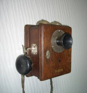 Телефон антикварный. Western Electric. США. 1907г