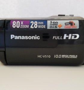 Видеокамера Panasonic HC-V510 FullHD 80x ZOOM