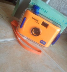 Фотоаппарат Siemens с водонепроницаемым футляром