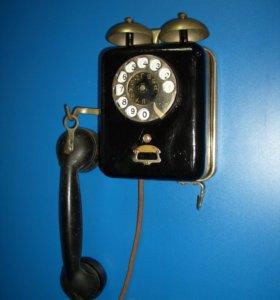Телефон старинный Н. К. Гейслер. 1920-е гг
