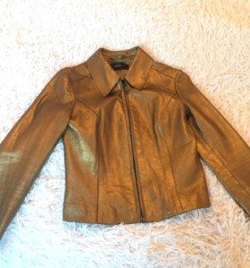 Куртка Uterque новая, натуральная кожа