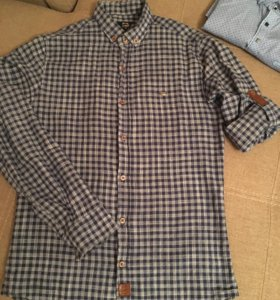 Рубашка в клетку L