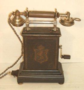 Антикварный телефон. 1905г. Норвегия