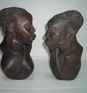 Статуэтка африканская. 1960-е гг. прошлого века