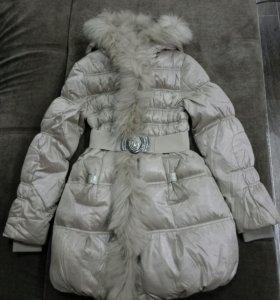 Элегантное зимнее пальто