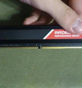 Продаю оперативную память AMD Radeon R7 на 8гб