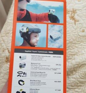 Экшен камера Sony AS100V action camera