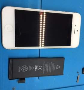 Замена батареи на iPhone