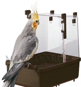 Ванночка для средних попугаев