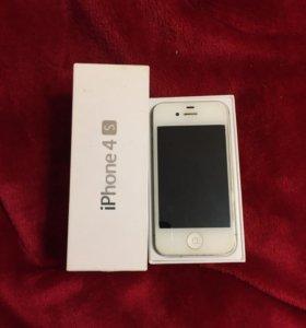 iPhone 4s 16gb white
