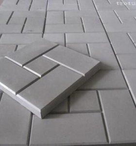Тротуарная плитка,бордюр