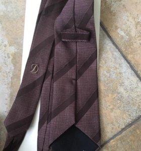 Шелковые галстуки Dupont и Cacharel оригинал